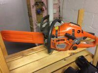 Husqvarna 550xp chainsaw (2 months old)