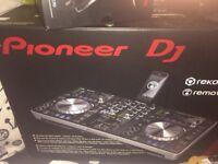Pioneer xrdj1 controller plus remote box cd