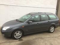 Ford Focus 1.8 turbo diesel estate, full mot, towbar