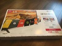 "LG 43"" TV - LG 43UF6407 - 43"" 4K ULTRA HD LED Smart TV webOS 2.0 WiFi Freeview"