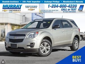 2013 Chevrolet Equinox LS *All Wheel Drive, Climate Control, OnS