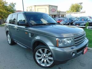 2007 Land Rover Range Rover Sport NAVIGATION- SUNROOF- 20 WHEELS