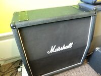 MARSHALL 1960A 4/12 ANGLED STEREO CABINET