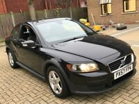 2007 VOLVO C30 2.4 S GT COUPE AUTOMATIC PETROL POWERFUL GREAT DRIVE 4 SEAT MOT BLACK N 147 CELICA