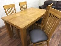 Table and chairs (free delivery)