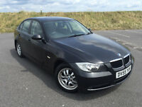 VERY LOW MILEAGE 2006 BMW 320i SE AUTOMATIC SALOON FULL SERVICE HISTORY LONG MOT