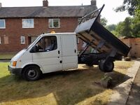 2000 t190 ford tipper 153978 mile