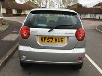 Chevrolet Matiz SE Plus 2007 , Very Low Mileage 31000, Mot till 19 April 2019