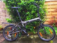 Full suspension Dahon Jetstream P8 Folding Bike