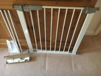 Stair Gate - Mothercare Easy Fix Premium Gate with extension pieces for up to 1m width