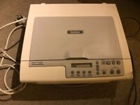 Brother DCP 135C Printer Scanner with set of spare ink cartridges