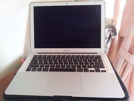 Apple MacBook Air i5 2.7GHz, 128GB SSD, 13.3inch HD, newest OS X sierra, Logic Pro, Final cut