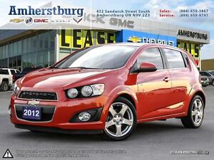 2012 Chevrolet Sonic LT - REMOTE START, SUNROOF, CRUISE CONTROL!