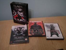Blade DVD box set.