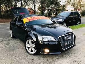 MY11 2010 Audi A3 Sports Luxury LOW KS LEATHER Paddle Shift Mags