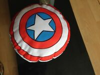 Avenger captain America shield cushion