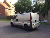 2008 Vauxhall vivaro 2.0 cdti in silver clean van ready to go