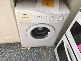 Small Zanussi washing machine