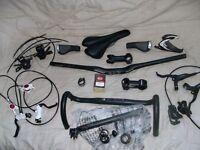 Mountain+Road Bike,Hydraulic Disc Brakes,Headset,Bars,Stem,Saddle,Wheels,Ritchey Carbon,Shimano,