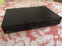 Panasonic Blu-ray Player DMP-BDT165EB. Smart 3D, USB, Netflix, YouTube. Boxed like new with receipts
