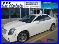 2007 Cadillac CTS CLIMATISEUR BI-ZONE SIEGES AVA
