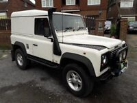 Defender 300 TDI – 1994 - White – Full history with all the bills to support - Appreciating classic