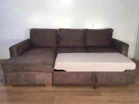 John Lewis Gray corner sofa bed with free delivery within London