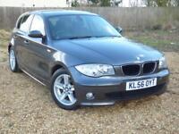 BMW 1 SERIES 118D SPORT (grey) 2006
