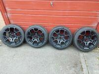 Fiat 500 Abarth Alloy wheels