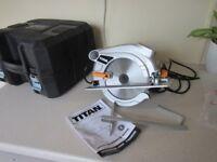 Circular Saw - Titan TTB286SCW - 190mm - As new