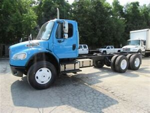 2010 Freightliner M2106 Cunnins diesel tandem axle Cab & Chassis