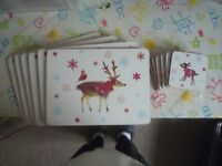 Set of 6 Placemats and 6 Coasters