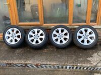BMW 1 Series (E81,E82,E87,E88) 16 inch Alloy wheels and Continental Run flat Tyres. 205/55 r16