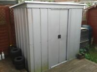 Yardmaster Pent Metal Shed .galvanised shed for sale