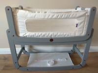 SnuzPod Bedside Crib 3 in 1 Dove Grey