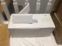 1 x box of Mini Metro White Gloss tiles