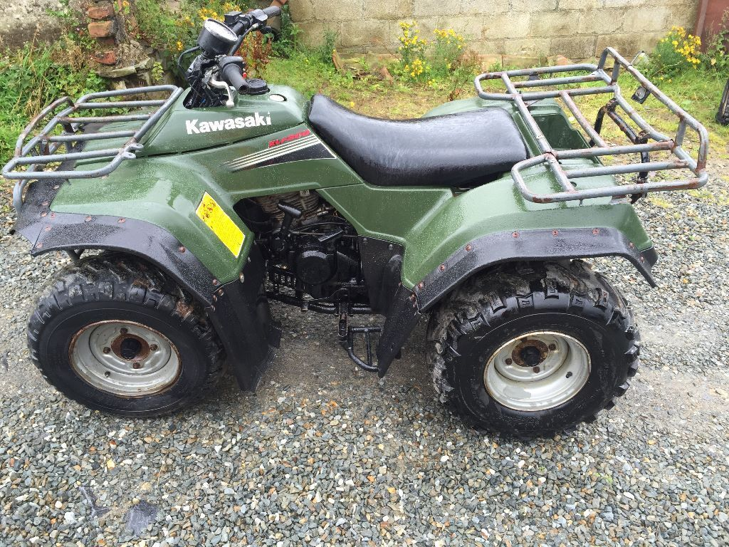 kawasaki klf300 2006 4x4 atv farm quad bike 300cc in carmarthen carmarthenshire gumtree. Black Bedroom Furniture Sets. Home Design Ideas