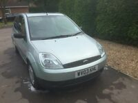 2003 Ford Fiesta Finesse Green 1.3 Petrol 3dr - 95,000 Miles