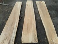 Beech spalted timber boards/slabs from £65