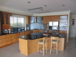 Timber kitchen with granite benchtops Ormiston Redland Area Preview