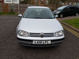 2002 Volkswagen Golf 1.6 SE 5dr Auto @07445775115 GenuineMileage+Automatic+Clean
