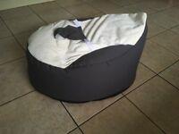 Baby Bean Bag - Gaga - used once - £20