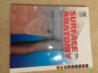 Surface anatomy radiography book