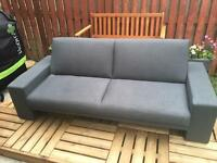 2 seater fold down sofa bed