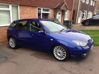 Ford Focus st 170 6 speed blue mot Hpi clear may px swap not mondeo fiesta turbo