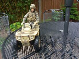 HM Forces Soldier On Quad Bike