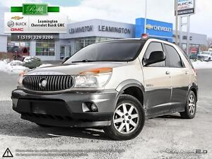2002 Buick Rendezvous JUST TRADED IN  V6  FWD CALL FOR A TEST DR