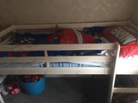 Shorty mid sleeper bed frame