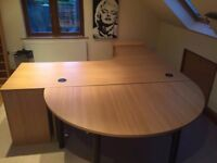 4 piece office furniture (ideal for home or small office space)