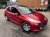 2008/58 PEUGEOT 207 1.4CC EXCELLENT CONDITION ONLY 90,000 GENUINE MILES LONG MOT AND SERVICE HISTORY